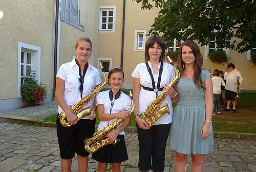 Music Camp 2011 vor Konzert 7
